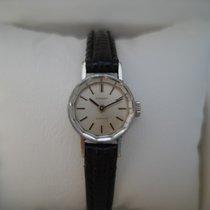 Tissot Saphir white gold plated ladies vintage 70 watch in...