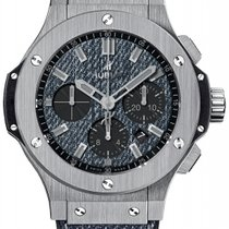 Hublot Big Bang Jeans Steel 44mm Blue No numerals United States of America, New York, New York