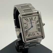 Cartier 3169 Stahl Tank Solo 27mm