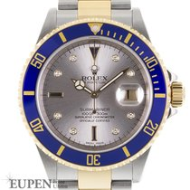 "Rolex Oyster Perpetual Submariner Date ""Sultan Serti Dial""..."