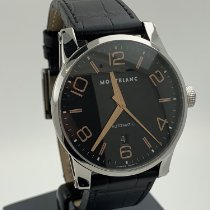 Montblanc 42mm Automatic 2009 pre-owned Timewalker Black