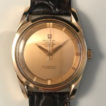 Universal Genève Rose gold 34mm Automatic Microtor pre-owned