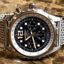 Breitling Chronospace Automatic Stahl 46mm Blau