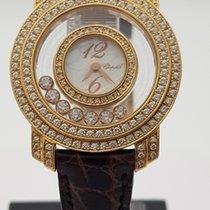 Chopard Pозовое золото 30mm Кварцевые Happy Diamonds подержанные Россия, Санкт-Петербург