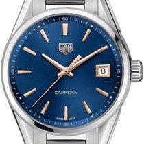 TAG Heuer Carrera Lady Steel Blue No numerals