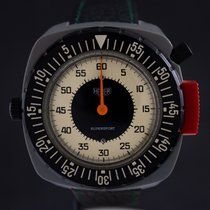 Heuer Plastic Manual winding White Arabic numerals 50mm pre-owned