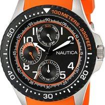 Nautica 44mm Quartz NAD14534G new