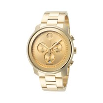 Movado Bold Staal 44mm Champagne