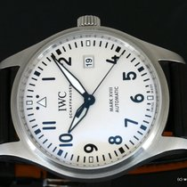 IWC Pilot Mark Staal 40mm Wit Arabisch Nederland, Wageningen