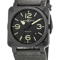 Bell & Ross BR0392-BL3-CE/SCA Ceramic BR 03-92 Ceramic new United States of America, New York, Brooklyn
