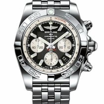 Breitling Chronomat 44 Steel 44mm Black No numerals United States of America, New York, New York