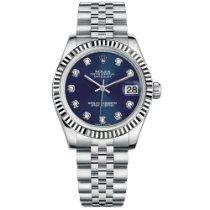 Rolex Lady-Datejust подержанные 31mm Cеребро Дата Сталь