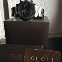 Gucci YA101331 Steel 2009 G-Chrono 44mm pre-owned