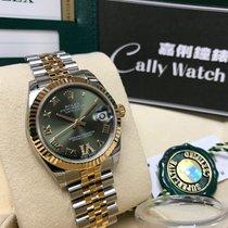 Rolex Cally - 178273 Datejust 31MM Green VI Diamond Dial Jub Brac