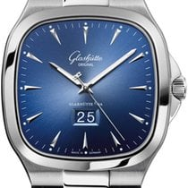 Glashütte Original Seventies Panorama Date Steel 40mm Blue United States of America, New York, Airmont