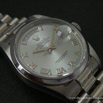 """Rolex Modern: Day-Date President Masterpiece Platinum """"Ref.182..."""