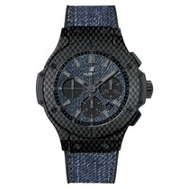 Hublot - Big Bang - Jeans Carbon Chronograph - 301.qx.2740.nr