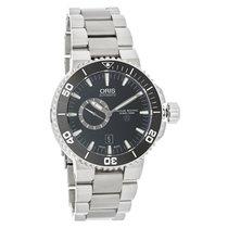 Oris Aquis Small Second Mens Swiss Automatic Watch 74376647154MB