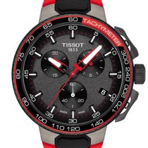 Tissot T-Race Cycling Staal 44,5mm Zwart