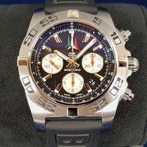 Breitling Chronomat 44 nuevo Automático Cronógrafo Reloj con estuche y documentos originales AB01104D/BC62/153S