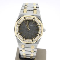 Audemars Piguet RoyalOak Lady SteelGold AftersetDiamonds...