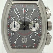 Franck Muller Steel 35mm Automatic 8005 CC new