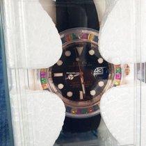Rolex 116695 SATS Oro rosa Yacht-Master 40 40mm