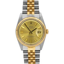 Rolex Datejust, 36 mm Two-Tone Ref# 1601, with Box