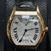 Cartier Tortue nuevo 35 mmmm Oro rosado