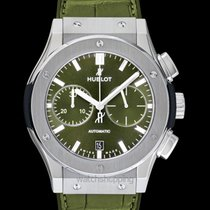 Hublot Classic Fusion Chronograph Titanium 45mm Green United States of America, California, San Mateo