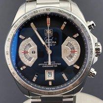 TAG Heuer Chronograph 43mm Automatik 2010 gebraucht Grand Carrera Schwarz