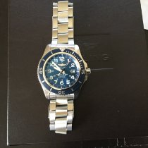 Breitling Superocean II 42 Steel 44mm Blue Arabic numerals United States of America, New York, halfmoon