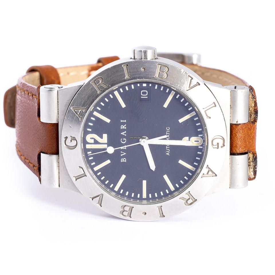 4231e57d11b Bulgari Diagono Aço - Todos os preços de relógios Bulgari Diagono Aço na  Chrono24