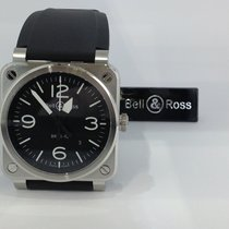 Bell & Ross 42mm Automatic 2019 new BR 03-92 Steel Black