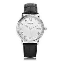 Montblanc 112609 Steel 2019 Tradition 40mm new