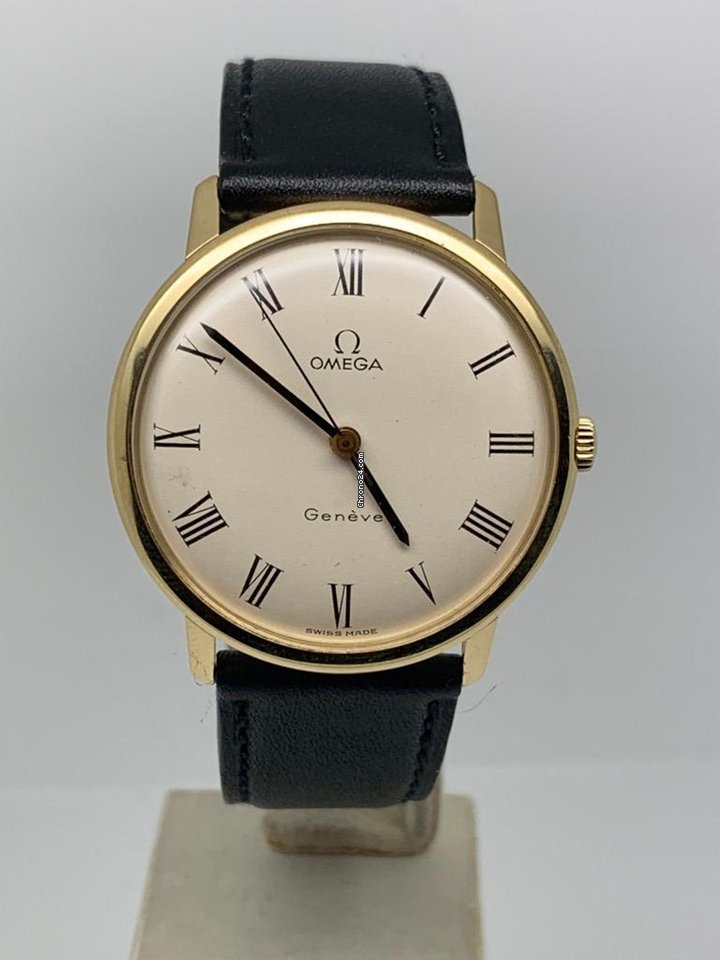 grande vente hot-vente plus récent bon ajustement Omega 18K YELLOW GOLD 35MM MANUAL YEAR 1968 PERFECT CONDITION