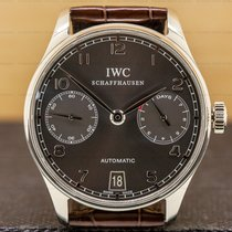 IWC Portuguese Automatic White gold 42.3mm Grey Arabic numerals United States of America, Massachusetts, Boston