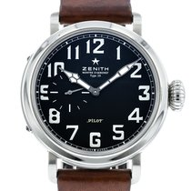Zenith Pilot Type 20 pre-owned 40mm Black Leather
