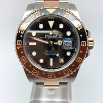 Rolex 126711CHNR Gold/Steel 2019 GMT-Master II 40mm pre-owned United Kingdom, Leicester