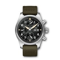 IWC Pilot Spitfire Chronograph Steel United States of America, Iowa, Des Moines