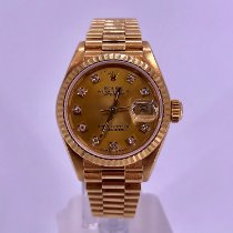 Rolex Lady-Datejust pre-owned 26mm Gold Date Yellow gold