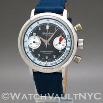 Wakmann Steel 37mm Manual winding 332.24 pre-owned United States of America, New York, White Plains