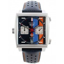 TAG Heuer Monaco Steel 39mm Blue United Kingdom, Blackburn