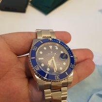 Rolex Submariner Date White gold Blue No numerals Australia, Baldivis