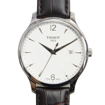 Tissot Tradition Zeljezo 42mm Srebro