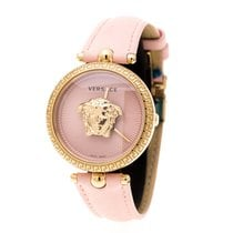 Versace Guld/Stål Kvarts Versace Pink Gold Stainless Steel Palazzo Empire VECQ ny