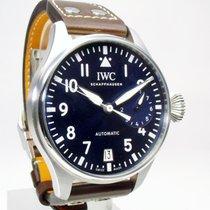IWC Große Fliegeruhr Stahl 46mm Blau Arabisch Deutschland, Weißenhorn