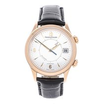 Jaeger-LeCoultre Master Memovox Rose gold 40mm Silver Arabic numerals United States of America, Pennsylvania, Bala Cynwyd