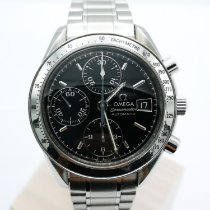 Omega 35135000 Steel Speedmaster Date 39mm pre-owned