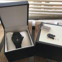 Gucci Сталь Кварцевые Gucci G-Timeless chronograph black dial men's watch YA126269 подержанные